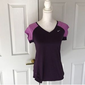 Nike Purple Running Top